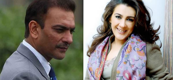 इस अभिनेत्री के साथ सरेआम प्यार की वजह से खूब चर्चा में रहे थे भारतीय कोच रवि शास्त्री, तस्वीरे भी आई थी सामने 1