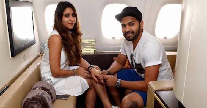 श्रीलंका के खिलाफ पहले टेस्ट से पहले पत्नी ऋतिका सजदेह के लिए रोहित शर्मा ने किया ये भावुक मैसेज