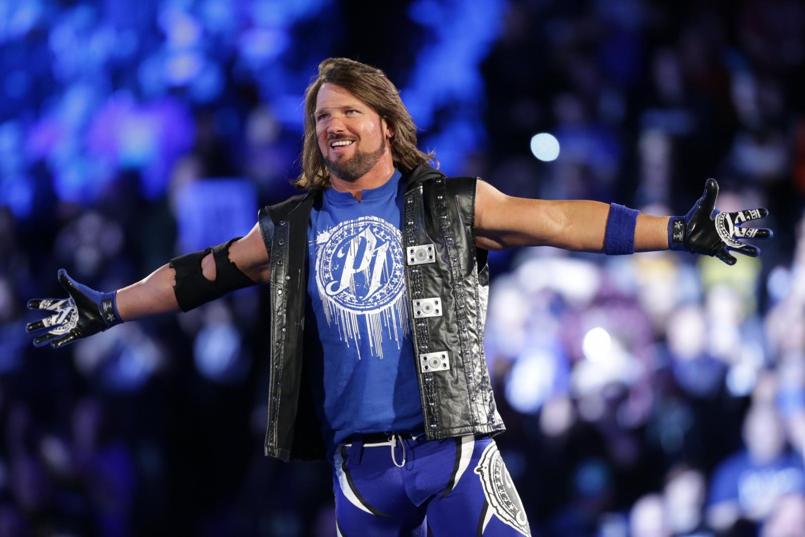 WWE NEWS: दुनिया का सबसे अच्छा रेस्लर कहलाये जाने पर एजे स्टाइल्स ने दिया चौकाने वाला जवाब 20