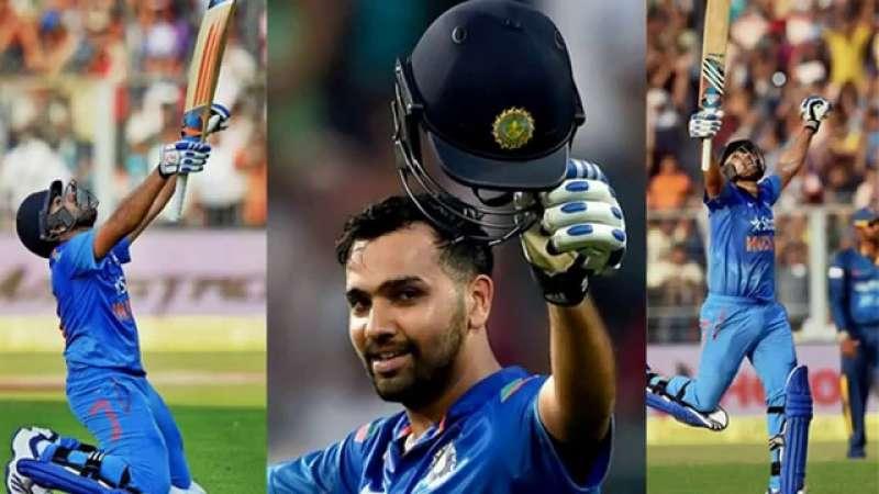 धोनी या कोहली ने नहीं बल्कि इस भारतीय खिलाड़ी ने की थी रोहित शर्मा को 264 रन बनाने में मदद, अब है टीम से बाहर 13