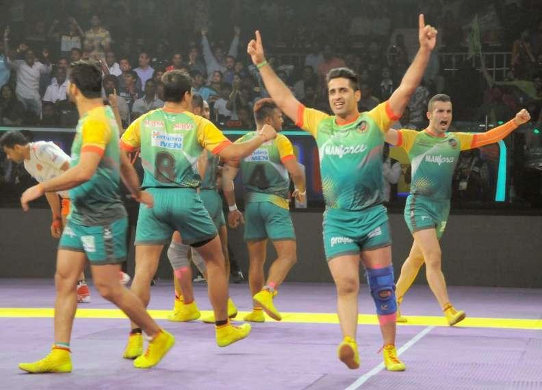 पटना पाईरेट्स की तेलगु टाईटन्स पर 43-36 की बड़ी जीत के बाद पटना पाईरेट्स रही ट्वीटर पर चर्चा का विषय 1