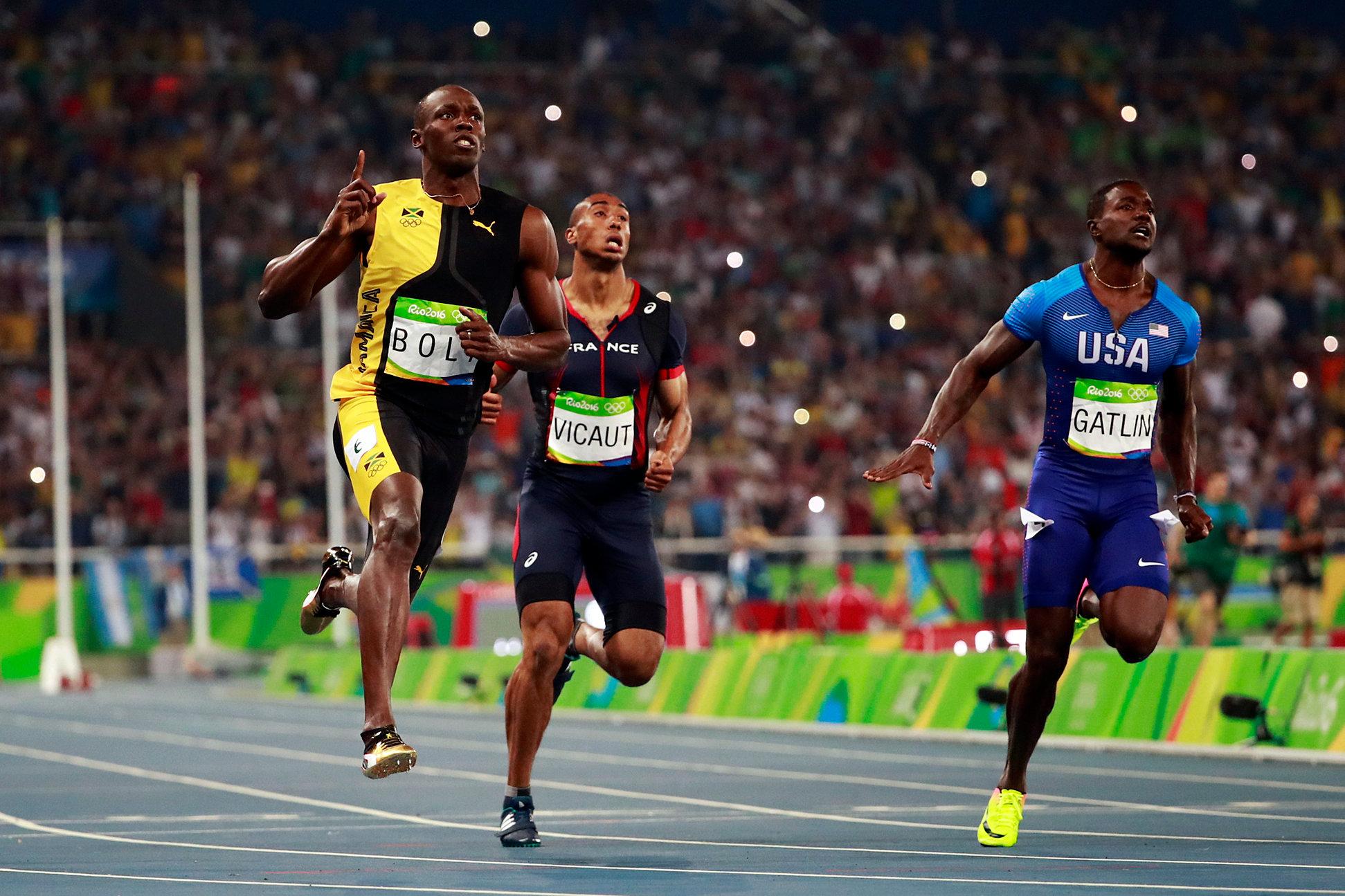 विश्व एथलेटिक्स : करियर की अंतिम 100 मीटर रेस में तीसरे स्थान पर रहे बोल्ट 9
