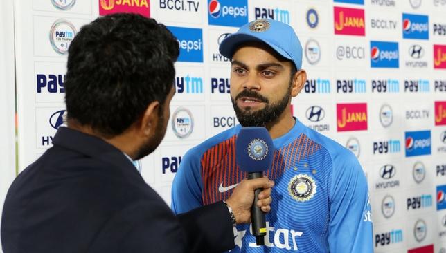 मैच जीतने के बाद विराट कोहली ने धोनी नहीं बल्कि इस खिलाड़ी को दिया मैच जीत का पूरा श्रेय 29