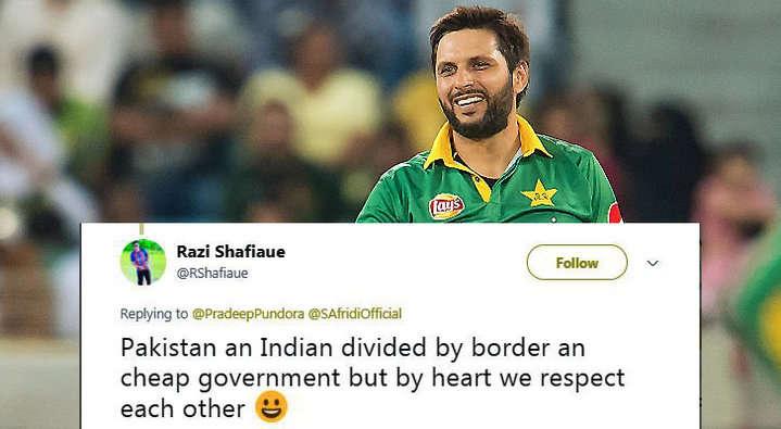 किसने क्या कहा: शाहिद अफरीदी के स्वतंत्रता दिवस पर किये गये ट्वीट पर लोग हुए अफरीदी के फैन, ऐसे व्यक्त की प्रतिक्रिया 10