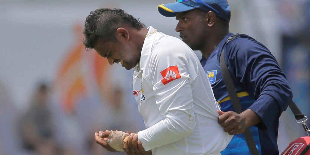 भारत और श्रीलंका के बीच खेले जा रहे दुसरे टेस्ट के बीच चोटिल होकर बाहर हुआ स्टार खिलाड़ी 5