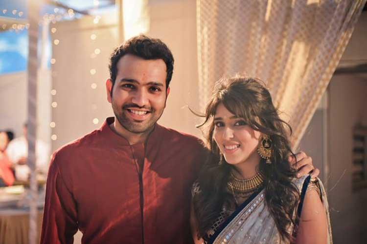 श्रीलंका के खिलाफ पहले टेस्ट से पहले पत्नी ऋतिका सजदेह के लिए रोहित शर्मा ने किया ये भावुक मैसेज 2