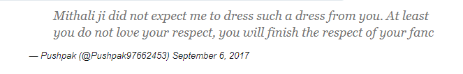 मिताली राज के फोटो पर बढ़ा विवाद, इन्होने कह डाला मिताली को पोर्न स्टार 5