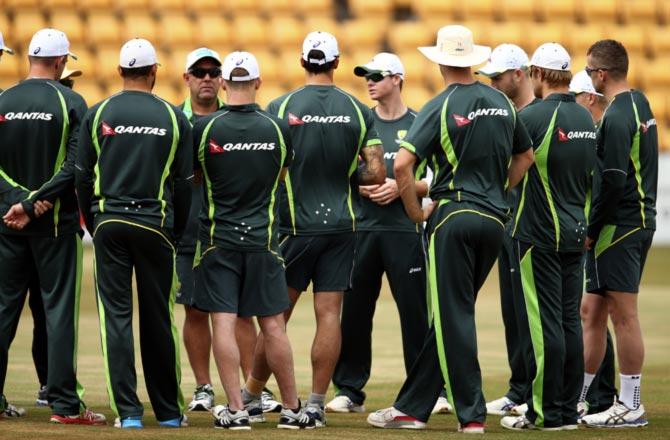 12 सितम्बर को पहले भिडंत के लिए चेन्नई पहुँची ऑस्ट्रेलियाई टीम 5