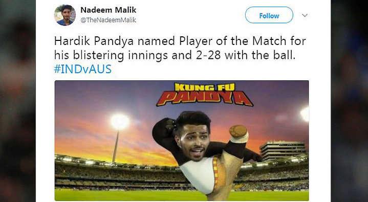 21 ओवर में भी आसान सा लक्ष्य हाशिल न कर पाने की वजह से कुछ यूजर्स ने ऑस्ट्रेलिया के लिए किया ऐसे ट्वीट देख नहीं रुकेगी शाम तक हँसी 10