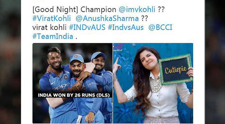21 ओवर में भी आसान सा लक्ष्य हाशिल न कर पाने की वजह से कुछ यूजर्स ने ऑस्ट्रेलिया के लिए किया ऐसे ट्वीट देख नहीं रुकेगी शाम तक हँसी 11