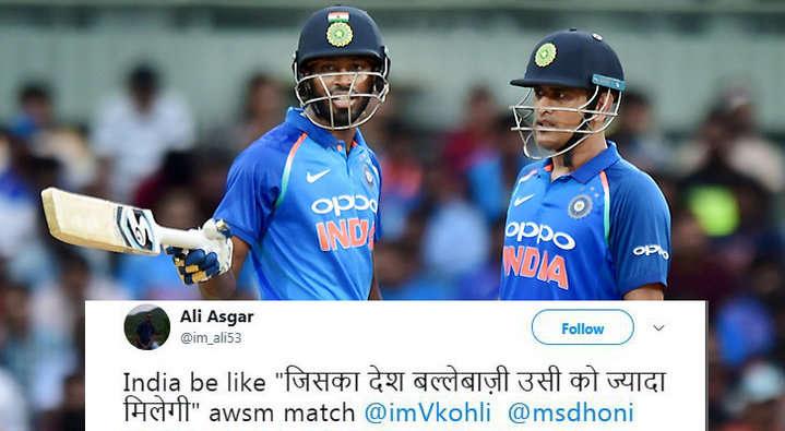 21 ओवर में भी आसान सा लक्ष्य हाशिल न कर पाने की वजह से कुछ यूजर्स ने ऑस्ट्रेलिया के लिए किया ऐसे ट्वीट देख नहीं रुकेगी शाम तक हँसी 12