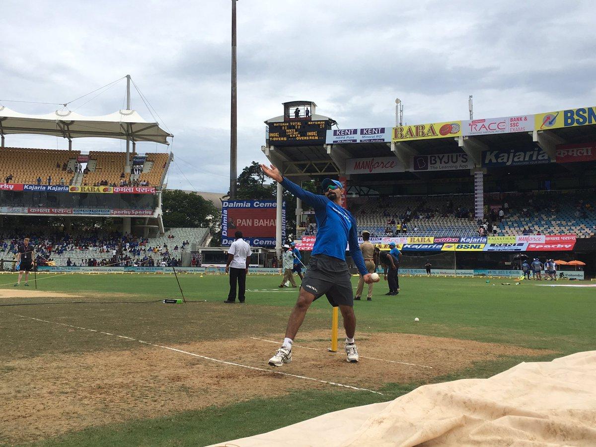 टॉस रिपोर्ट- भारतीय टीम ने टॉस जीतकर पहले बल्लेबाजी करने का निर्णय लिया 4