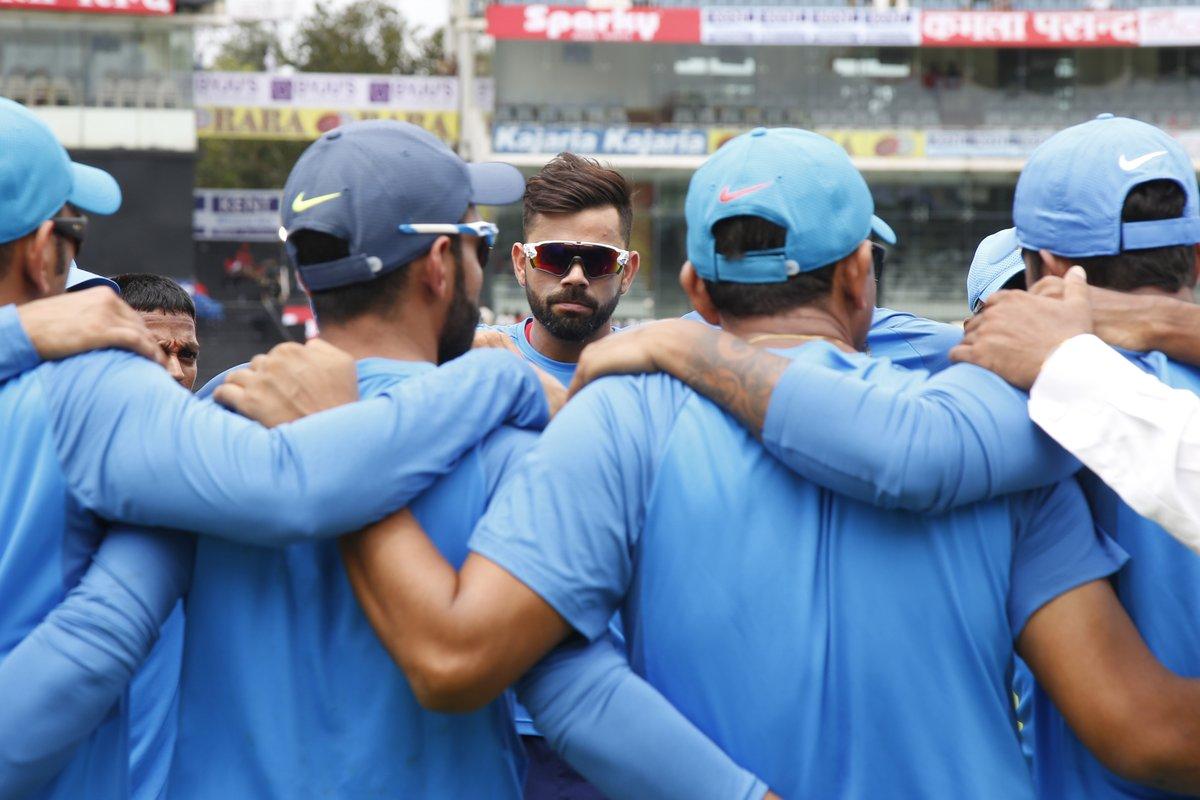 टॉस रिपोर्ट- भारतीय टीम ने टॉस जीतकर पहले बल्लेबाजी करने का निर्णय लिया 2