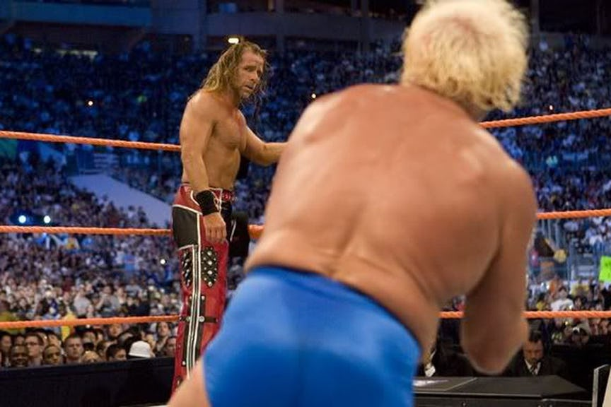 PHOTO: ये हैं WWE रेस्लरो की वो तस्वीरें जो उनके अंतिम मैच के समय ली गयी, 7 वीं तस्वीर देख हो जायेंगे भावुक 9