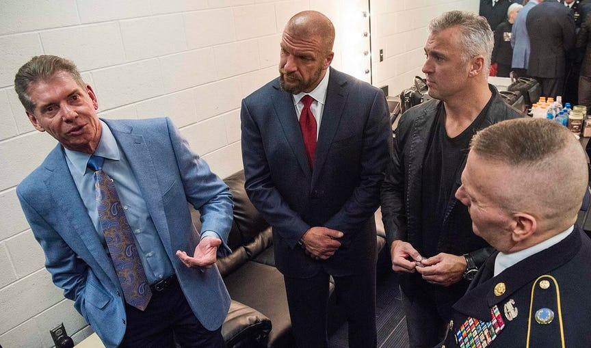 TOP 5: अगर शेन मैकमोहन ने संभाली WWE की कमान तो कुछ इस तरह बदलेगा कंपनी का हुलिया, ट्रिपल एच की बढ़ेगी मुसीबते 5
