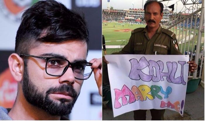 OMG!! भारतीय क्रिकेट के आइकन विराट कोहली को किसी लड़की ने नहीं बल्कि इस पुलिस वाले ने दिया था शादी करने का प्रपोजल, अब तस्वीर हुई वायरल 3