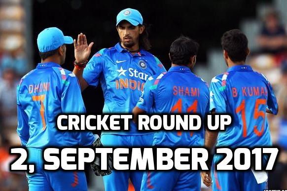 क्रिकेट राउंड अप: एक नजर में पढ़े शनिवार, 2 सितम्बर की क्रिकेट से जुड़ी हर एक बड़ी खबर 1
