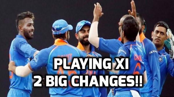 चौथा वनडे जीतने के बाद अब अंतिम मैच में इन दो बड़े बदलाव के साथ मैदान पर उतरेंगे विराट कोहली! 1