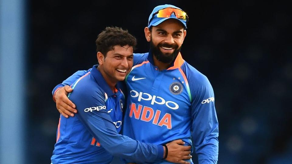कुलदीप यादव ने विराट की कप्तानी को लेकर किया ये बड़ा खुलासा, बताया हर गेंदबाज के पास जाकर क्या कहते है विराट 13