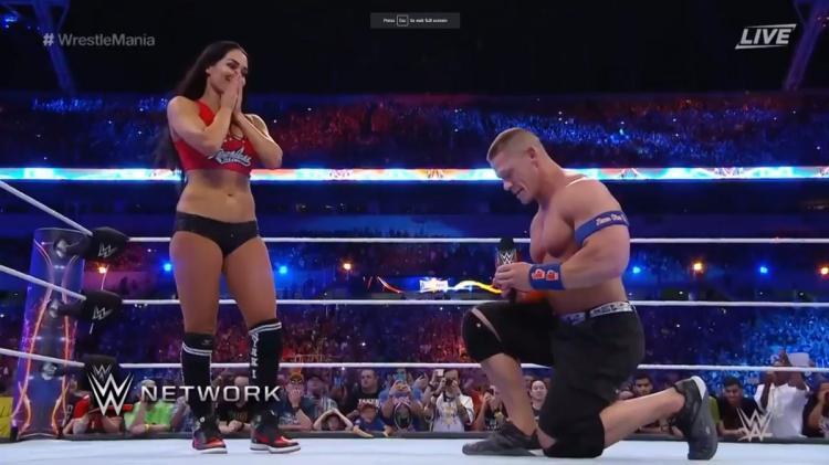 WWE NEWS: जॉन सीना ने फिर दिखाया कि वे हैं अपनी होने वाली पत्नी के गुलाम, निकी बेला के लिए किया ये 1