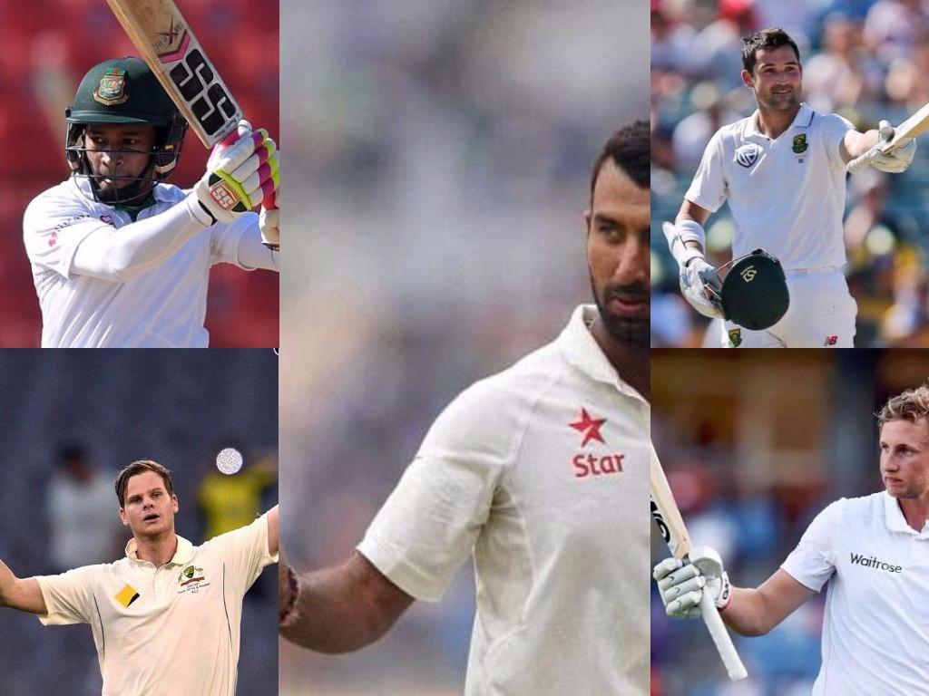 इस साल टेस्ट क्रिकेट में अभी तक इन पांच खिलाड़ियों ने बनायें हैं सबसे अधिक रन 19