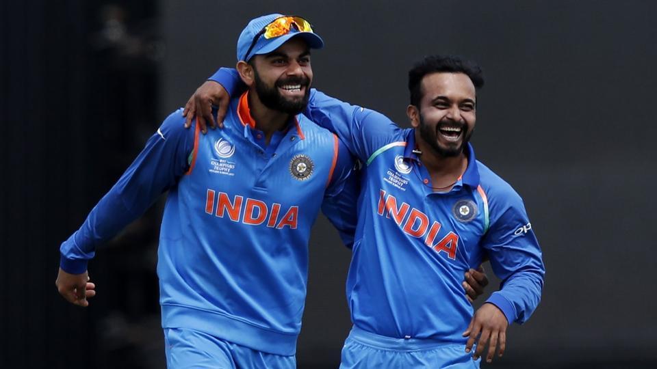 कोलकाता वनडे से पहले केदार जाधव का रोहित शर्मा ने बनाया मजाक, सरेआम कह डाली जाधव को ये बात 11