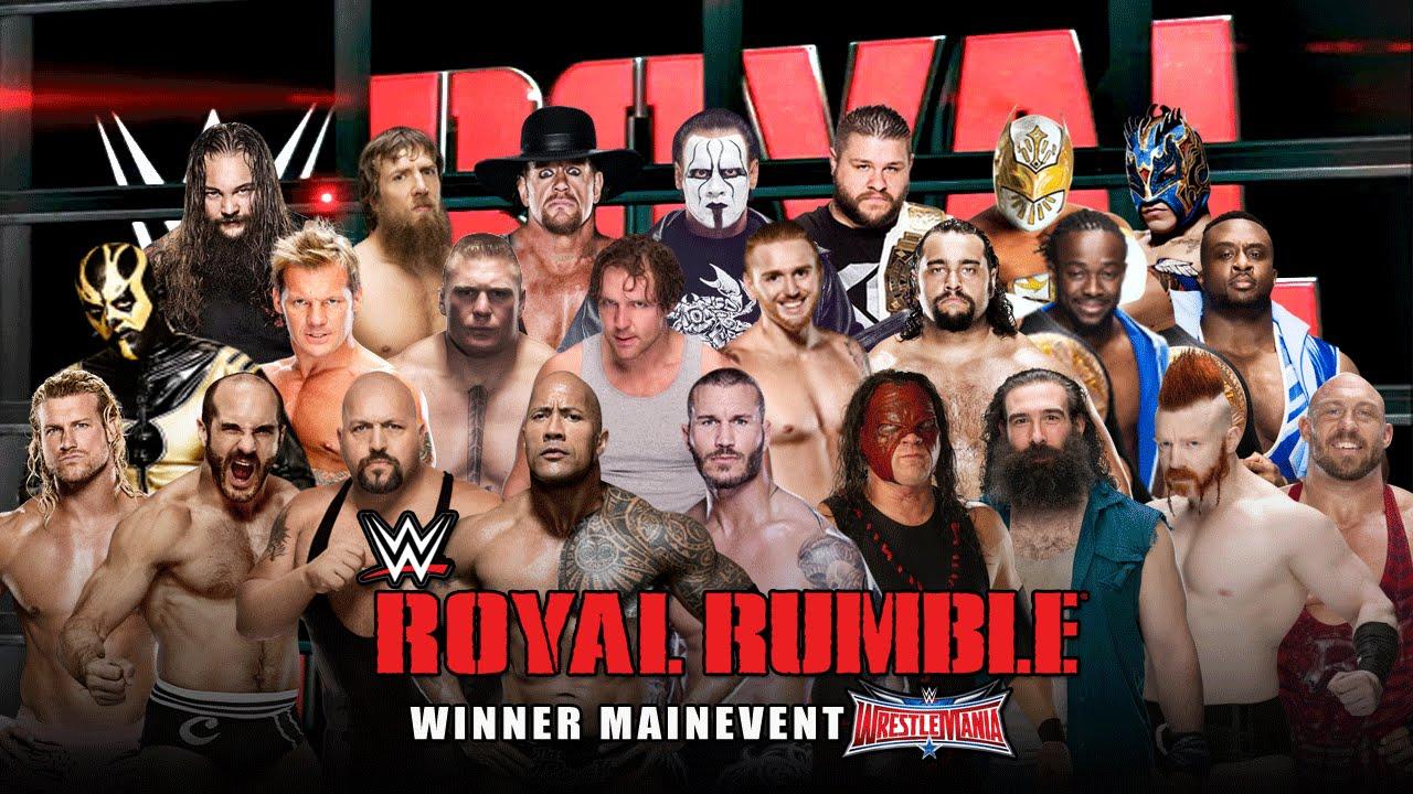 किसने कहा: ''WWE की रॉयल रम्बल में हिस्सा लेना ही मेरे रेसलिंग करियर का सबसे अच्छा पल है'' 9