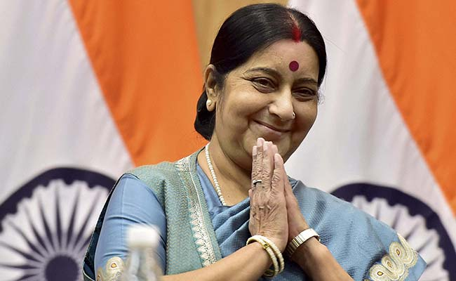 भारत की विदेश मंत्री सुषमा स्वराज ने अफगानिस्तान को टेस्ट नेशन का दर्जा मिलने पर जताई बेहद खुशी 1