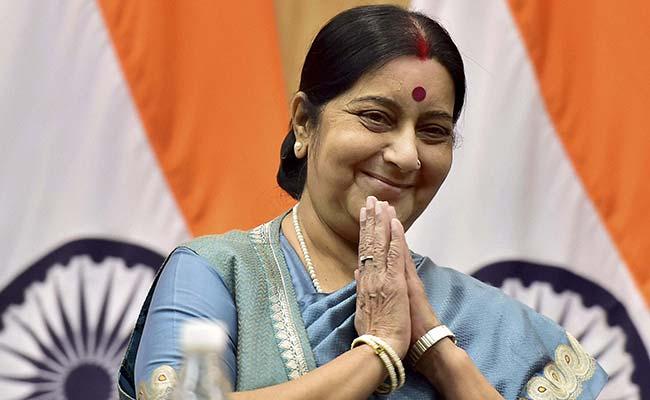 भारत की विदेश मंत्री सुषमा स्वराज ने अफगानिस्तान को टेस्ट नेशन का दर्जा मिलने पर जताई बेहद खुशी 4