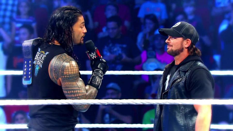 WWE NEWS: रोमन रेन्स ने जॉन सीना को नहीं बल्कि इस रेस्लर को बताया अपना फेवरेट प्रतिद्वंदी 3