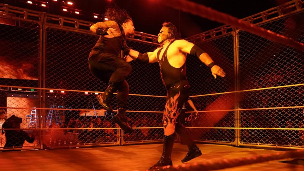WWE NEWS: ...तो क्या अंडरटेकर की हार का बदला लेने के लिए केन ने किया रोमन रेन्स पर हमला 4