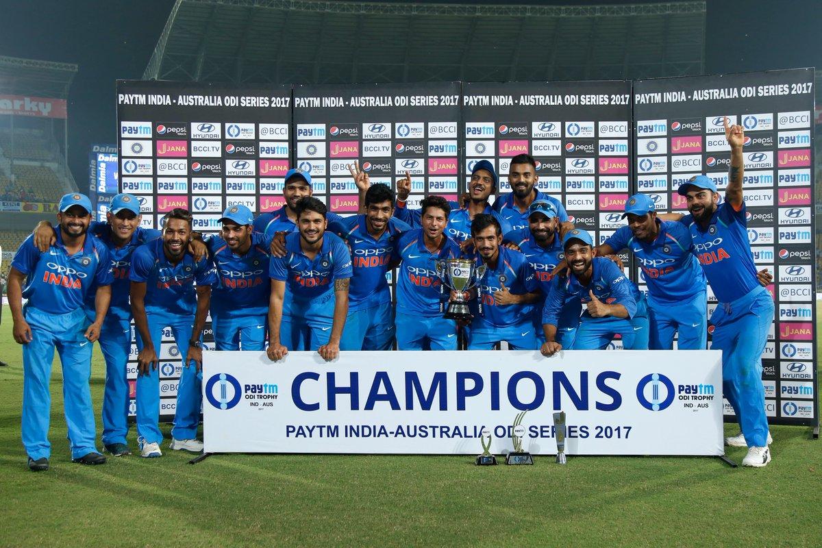 सीरीज जीतते ही भारत ने बनाया विश्व रिकॉर्ड, धोनी की कप्तानी में भी नहीं रचा गया था ये इतिहास 4