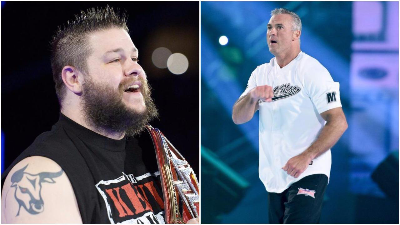 WWE NEWS: हेल इन द सेल में भिड़ने से पहले केविन ओवन्स ने कुछ इस तरह उड़ाया शेन मैकमोहन का मजाक