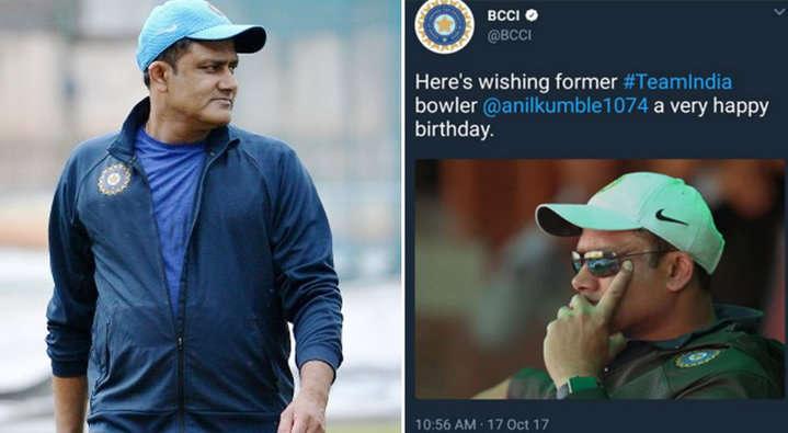 बीसीसीआई ने अनिल कुंबले को दी जन्मदिन की बधाई लेकिन किया ऐसे शब्द का प्रयोग लोगो ने बताया बीसीसीआई को विराट का गुलाम 3