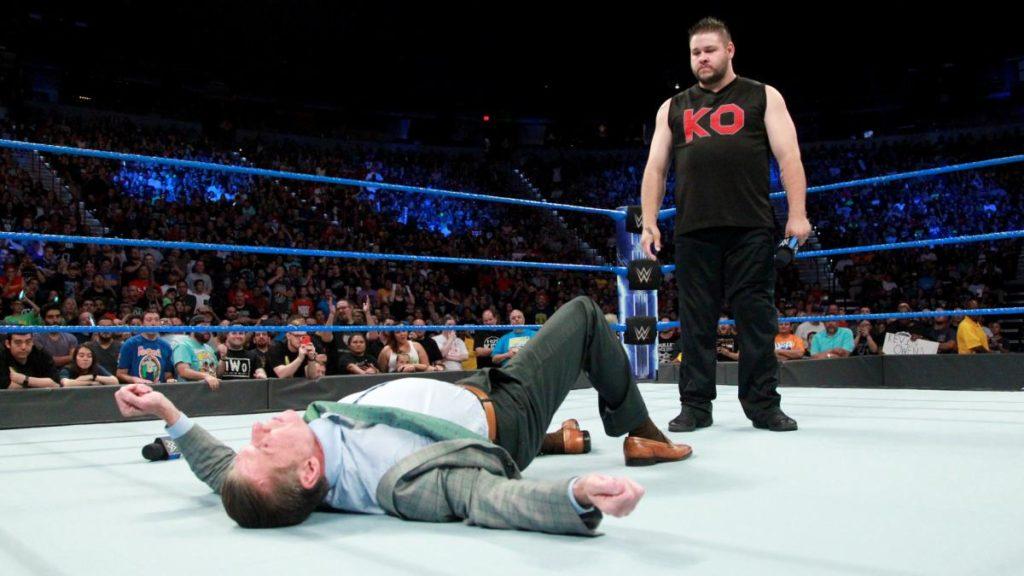 WWE NEWS: हेल इन द सेल में भिड़ने से पहले केविन ओवन्स ने कुछ इस तरह उड़ाया शेन मैकमोहन का मजाक 1