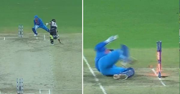VIDEO: 6.5वें ओवर में महेंद्र सिंह धोनी ने चली ऐसी चाल, कि भारत ने पहली बार न्यूजीलैंड से जीत लिया सीरीज 16