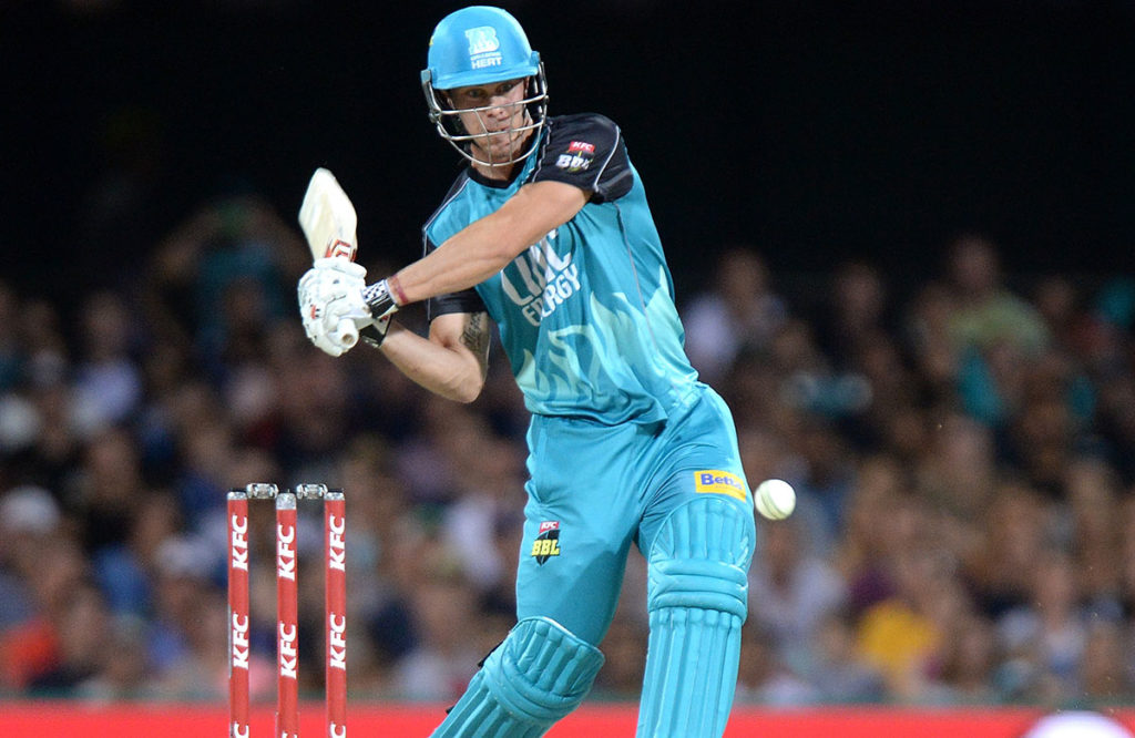 कोलकाता नाइट राइडर्स के लिए नहीं, बल्कि इस टीम से अपनी बल्लेबाजी का जौहर बिखरते हुए दिखाई देगे क्रिस लीन 4