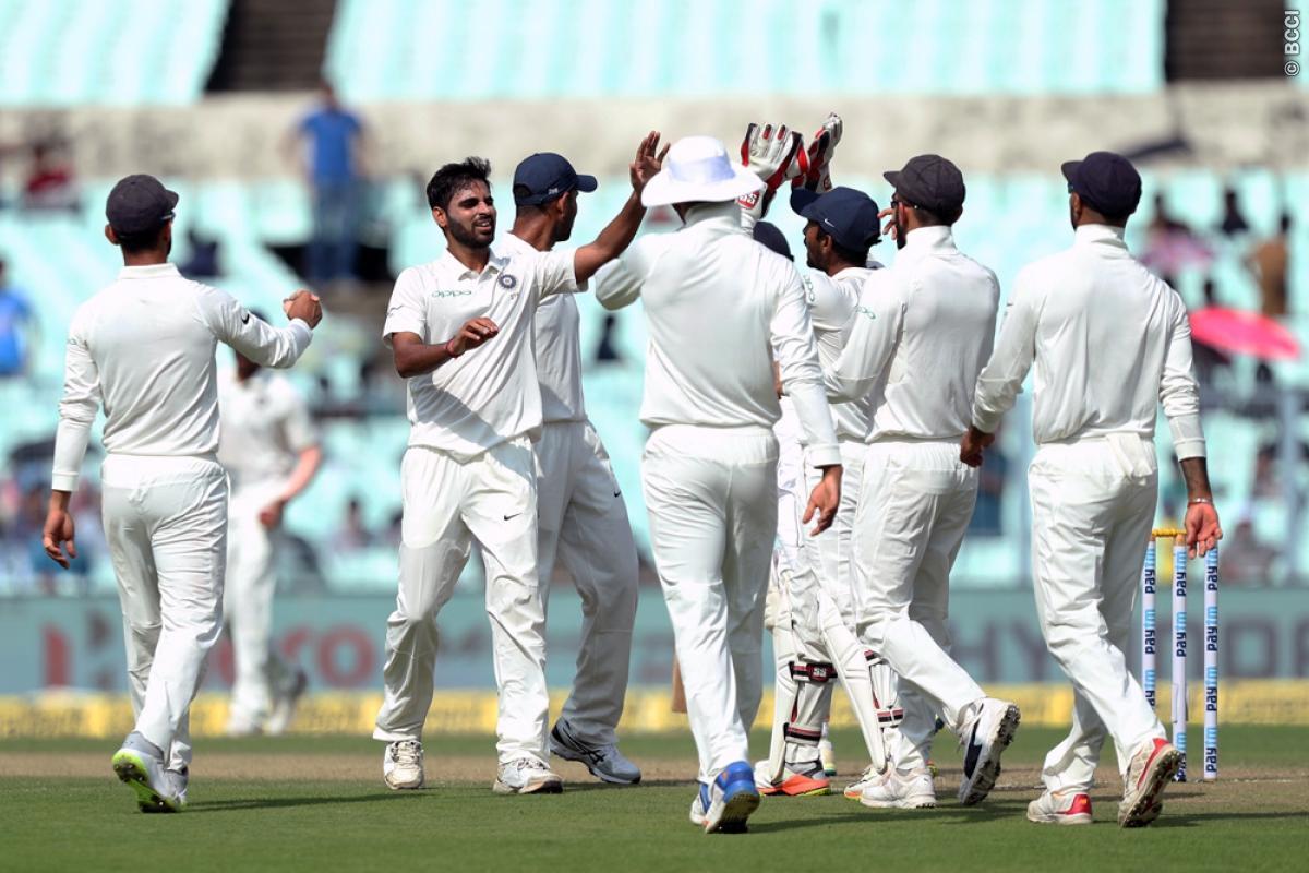 भारत के खराब बल्लेबाजी के बाद चेतेश्वर पुजारा ने बताया कौन सी टीम जीत सकती है कोलकाता टेस्ट 1