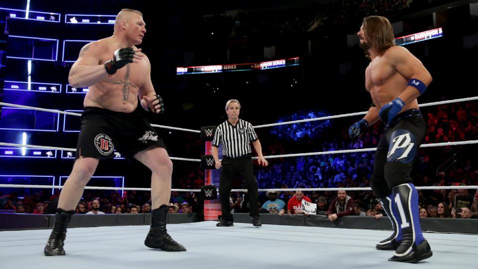 WWE NEWS: सरवाइवर सीरीज में ब्रोक लेसनर से हारने के बाद एजे स्टाइल्स ने फिर से भरी हुंकार, ब्रोक के बारे में कह डाली ये बड़ी बात