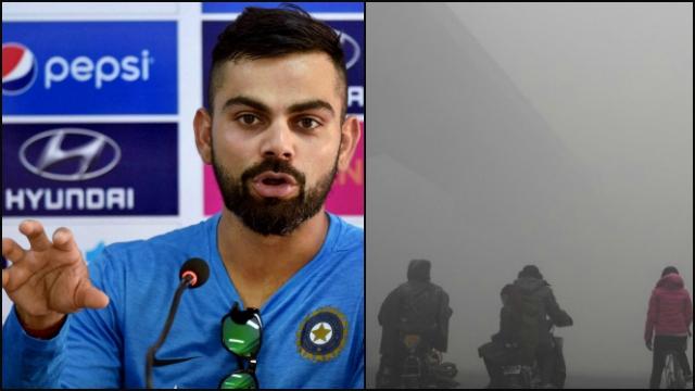 वीडियो-दिल्ली में स्मॉग के कहर के बीच भारतीय क्रिकेट टीम के कप्तान विराट कोहली आए आगे, दिल्लीवासियों को दिया दिल छू लेने वाला संदेश 5