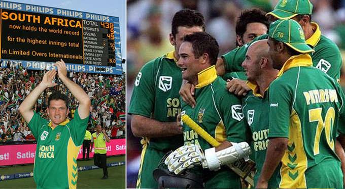 जैक कैलिस ने अफ्रीका को बताया था वो मन्त्र जिसके बाद अफ्रीका ने वनडे में ऑस्ट्रेलिया के खिलाफ खेली थी 435 रनों की रिकॉर्ड पारी 5