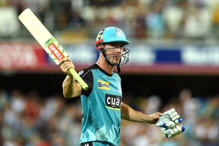 कोलकाता नाइट राइडर्स के लिए नहीं, बल्कि इस टीम से अपनी बल्लेबाजी का जौहर बिखरते हुए दिखाई देगे क्रिस लीन 5