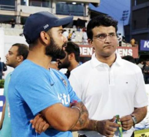 चौतरफा विराट कोहली की कप्तानी की हो रही आलोचना के बीच अब खुद पूर्व कप्तान सौरव गांगुली ने भी बोल दी विराट की कप्तानी पर ये बात 1
