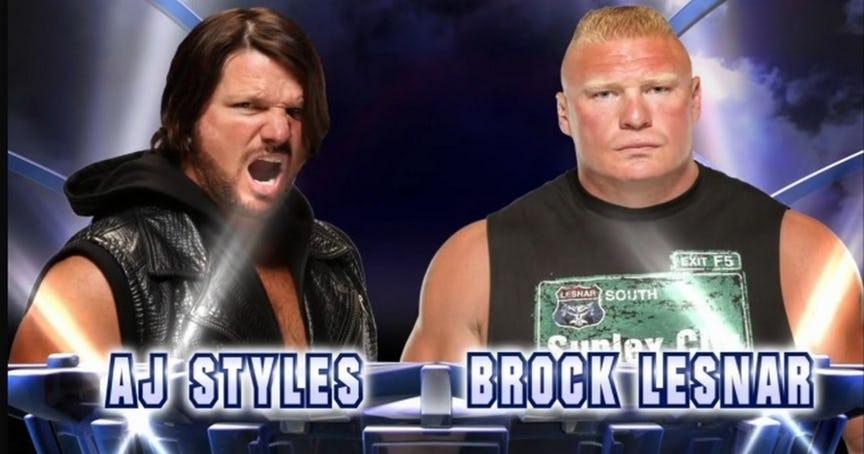 WWE NEWS: सरवाइवर सीरीज में ब्रोक लेसनर से हारने के बाद एजे स्टाइल्स ने फिर से भरी हुंकार, ब्रोक के बारे में कह डाली ये बड़ी बात 5