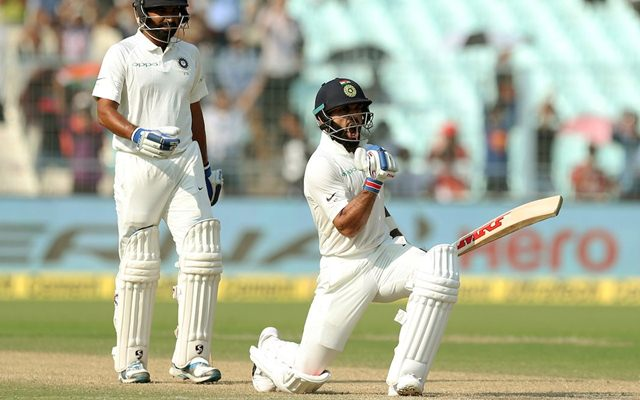 IND vs SL 2017: Virat Kohli Equals Rahul Dravid's Record Of Most 50-Plus Scores In A Calendar Year As India Captain