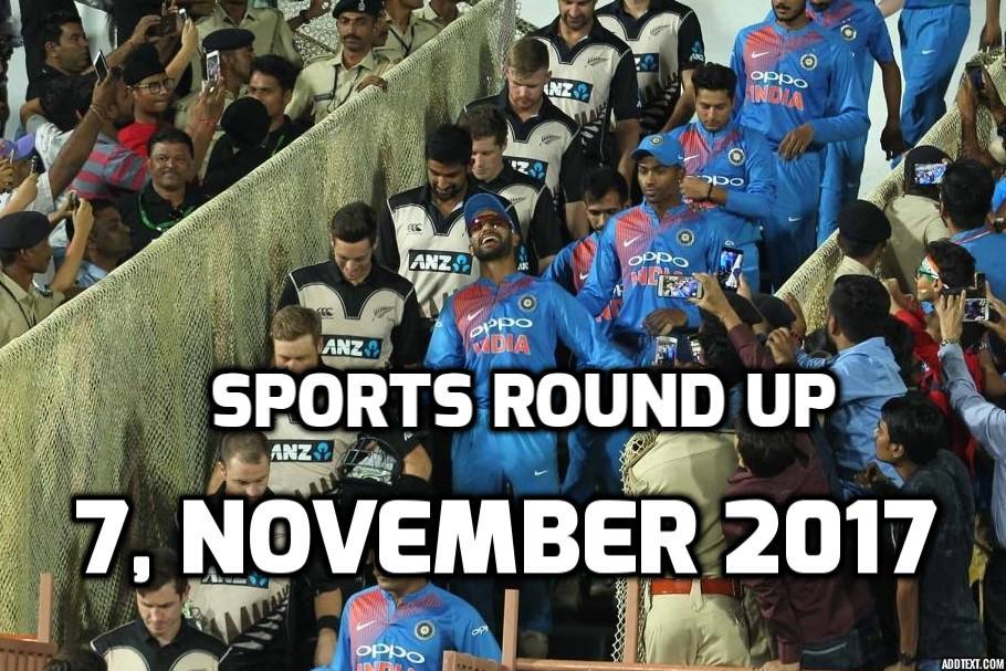 स्पोर्ट्स राउंड अप: एक नजर में पढ़े 7 नवम्बर की खेल से जुड़ी हर एक बड़ी खबर 6