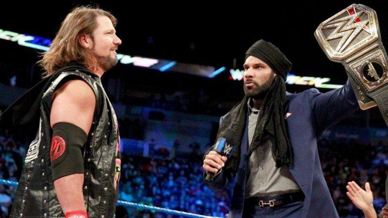 जानिए वो 5 तरीके जिससे WWE एक बार फिर से एजे स्टाइल्स को बना सकता है स्मैकडाउन का मेंन इवेंट रेसलर 4
