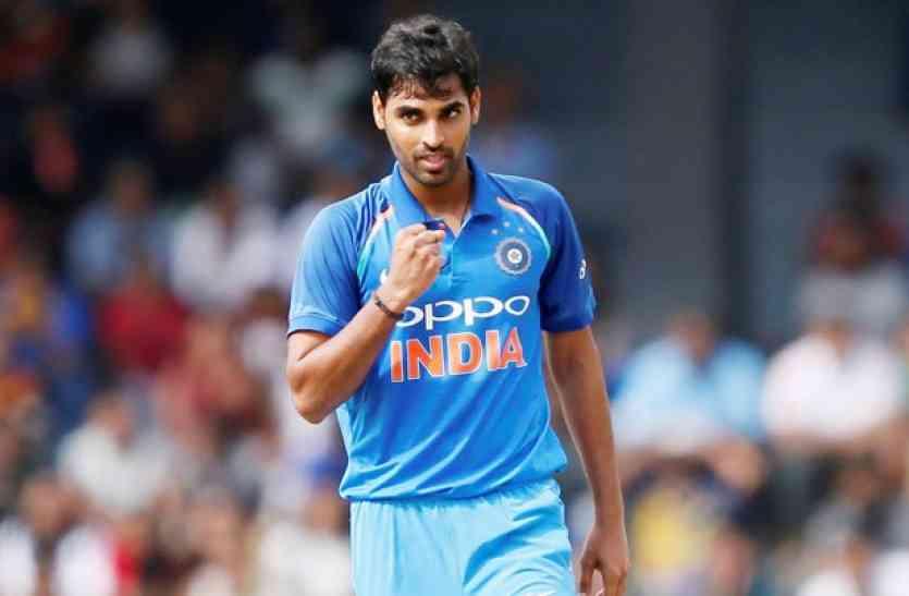 भुवनेश्वर कुमार के नाम दर्ज है अन्तर्राष्ट्रीय क्रिकेट का सबसे शर्मनाक रिकाॅर्ड 3