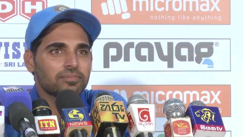 तीसरे मैच से पहले भुवी ने कहा, इस बल्लेबाज़ की वजह से भारत हार सकता है तीसरा टी-20 1
