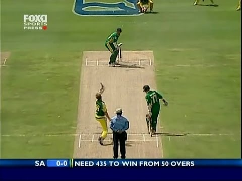 जैक कैलिस ने अफ्रीका को बताया था वो मन्त्र जिसके बाद अफ्रीका ने वनडे में ऑस्ट्रेलिया के खिलाफ खेली थी 435 रनों की रिकॉर्ड पारी 4